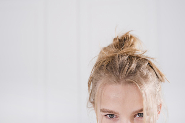 Hair-at-Ridley-Park-Blyth-Hairdressers-NE243HF-01670365009-Casual-Hairstyles-Messy-Bun-Hair-Up-Up-Do